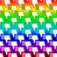 Thumb down rainbow
