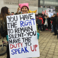 Dragon at Newseum (Women's March on Washington)