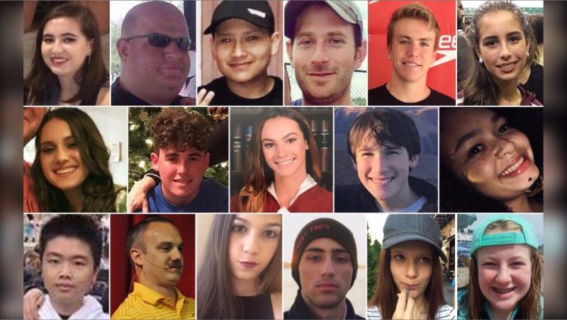 Marjory Stoneman Douglas High School gun violence victims